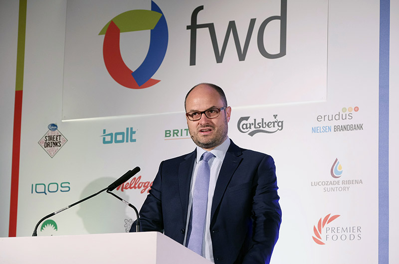 James Bielby at FWD conference