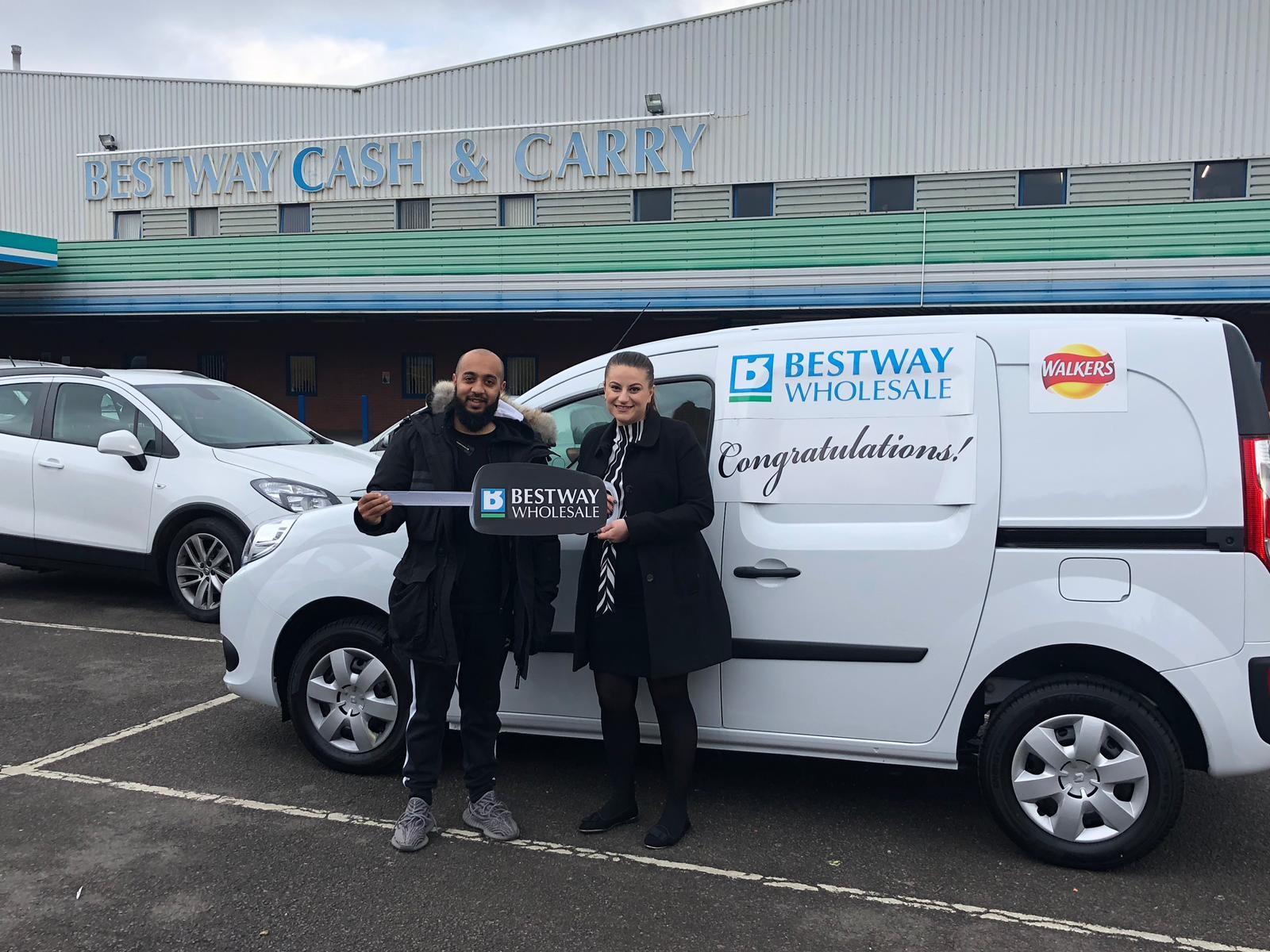 a879386d25 Birmingham-based customer wins new van with Bestway