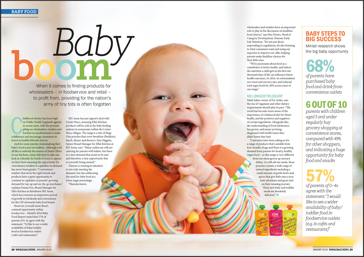 Wholesale News baby category feature