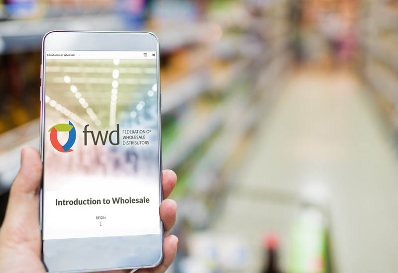FWD Introduction to Wholesale app