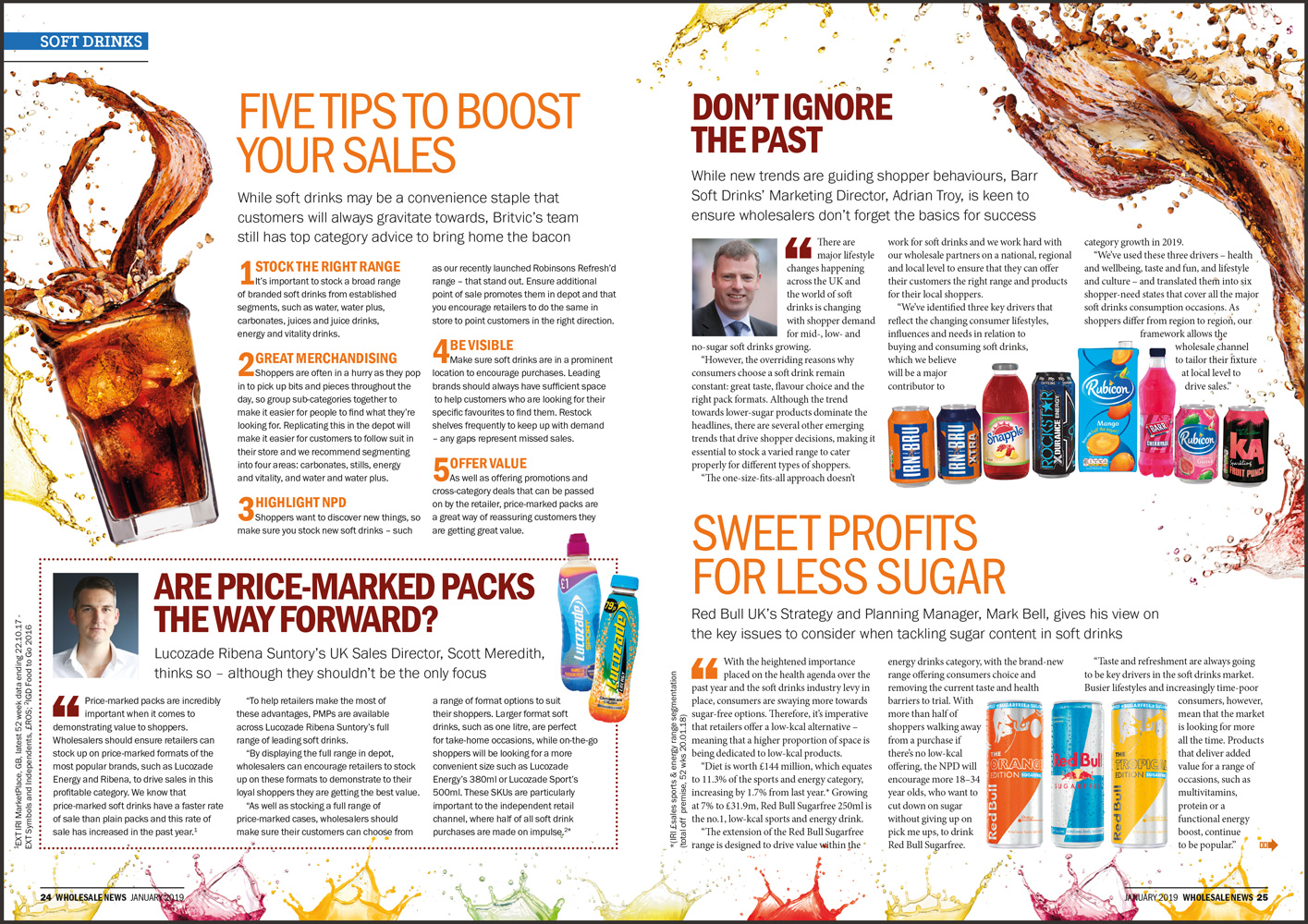 Wholesale News soft drinks feature