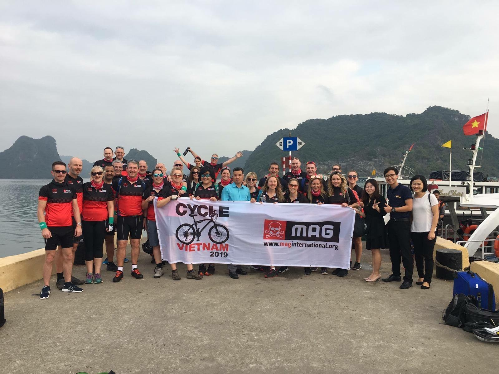 MAG impulse and convenience charity cycle in Vietnam