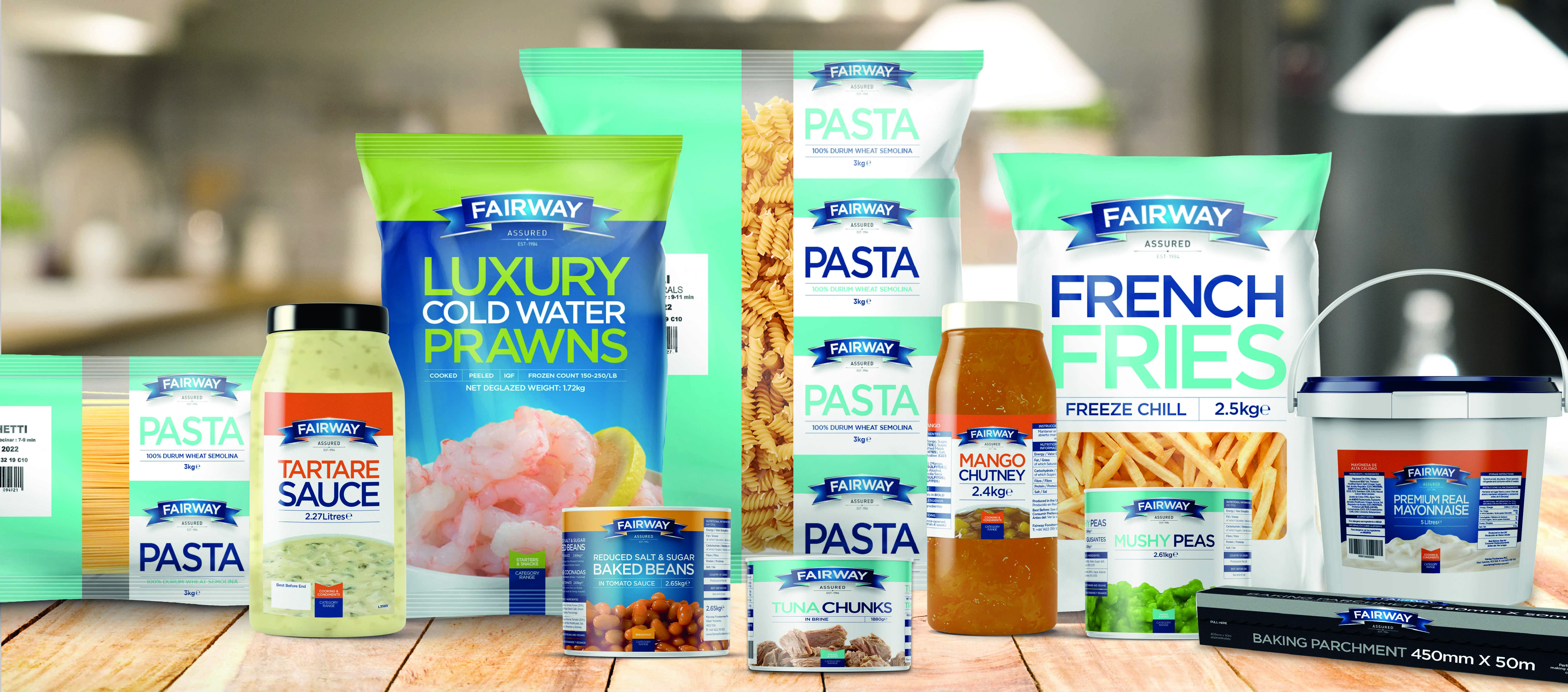 Fairway Foodservice's own-brand range