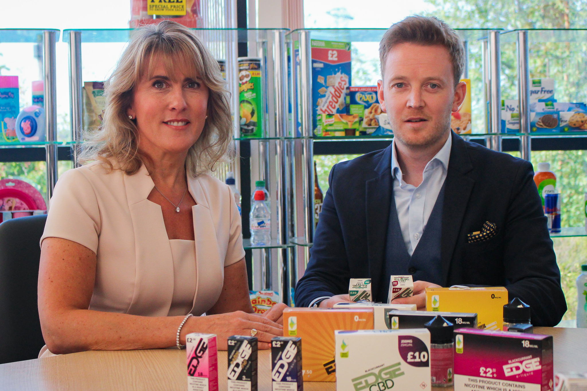 Debbie Harrison, Joint MD at Pricecheck, and Chris Carr, Sales Director at NextGen360
