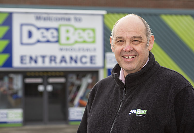 Dee Bee Wholesale Trading Director Andy Morrison