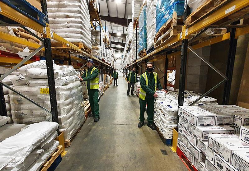 Queenswood Foods depot