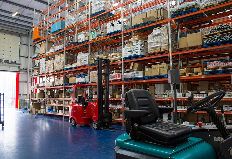 Wholesaler depot