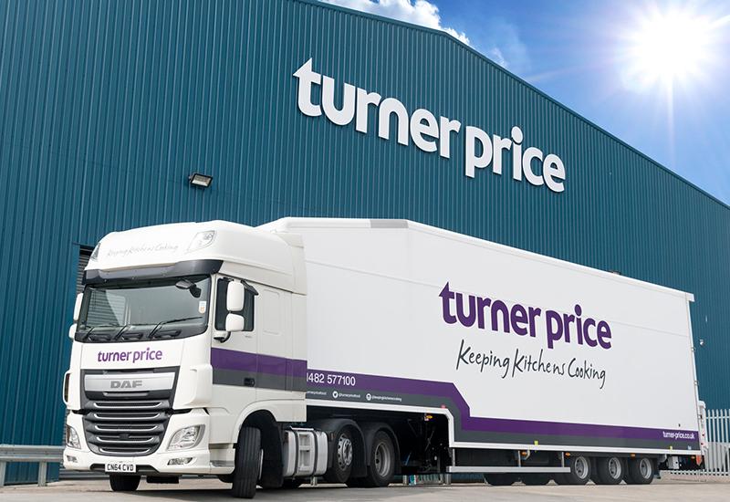 Turner Price lorry