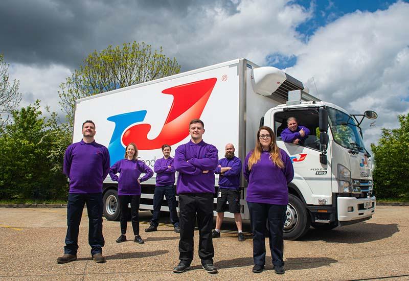 JJ Foodservice HGV drivers