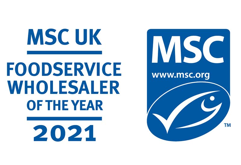 MSC foodservice wholesaler of the year logo